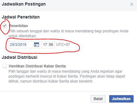 Rahasia Cara Membuat Postingan Terjadwal Di Fanspage Facebook Gratis! 02
