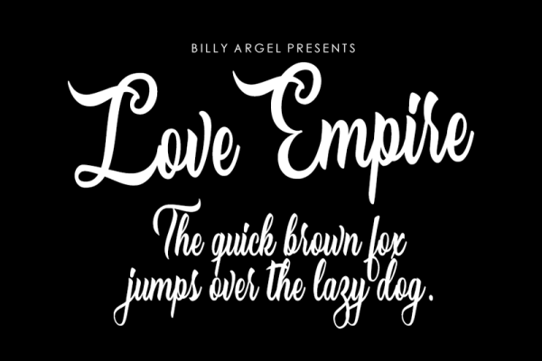 Download Kumpulan Font Latin Terbaru Terbaik 2019 Part 1 love_empire