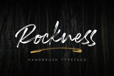 Kumpulan Font Terbaru Terbaik Bulan Maret 2019 rockness