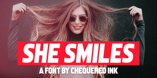 Download 10 Font Tebal TTF Terbaik Terbaru 2019 Gratis she_smiles
