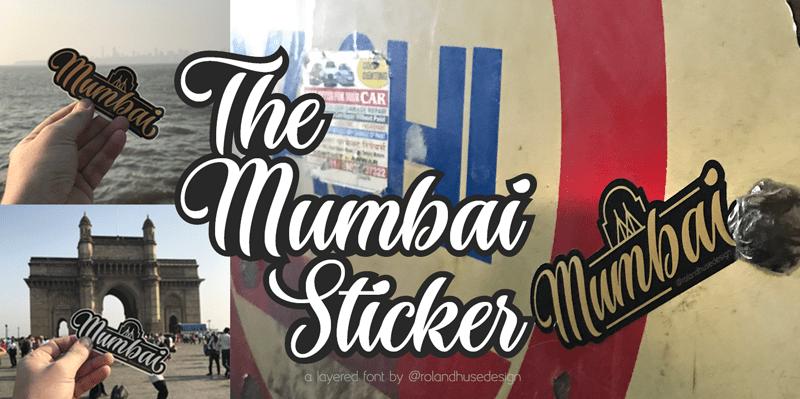 Kumpulan Font Terbaik Terbaru Maret 2019 Part 2 the_mumbai_sticker