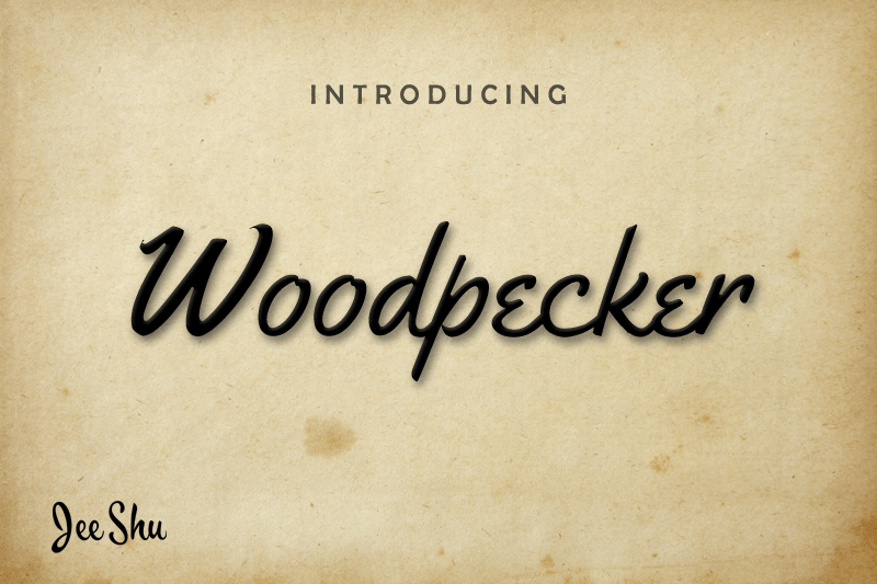 Download Kumpulan Font Latin Terbaru Terbaik 2019 Part 1 woodpecker