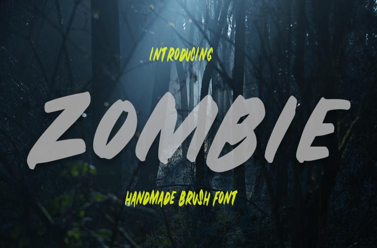Download 10 Font Tebal TTF Terbaik Terbaru 2019 Gratis zombie_2
