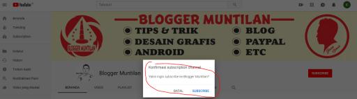 Rahasia Cara Membuat Link Subscribe Otomatis Youtube 1