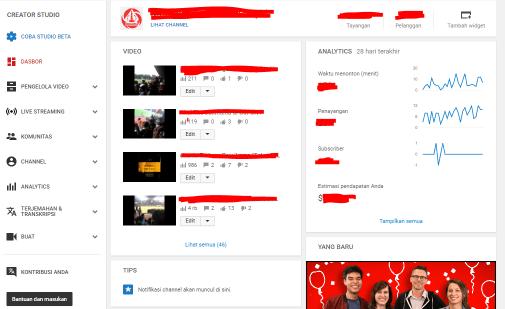 Cara Mengganti Tampilan Youtube Creator Studio Beta Terbaru Dengan Classic 4