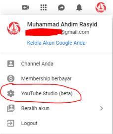 Cara Mengganti Tampilan Youtube Creator Studio Beta Terbaru Dengan Classic 1