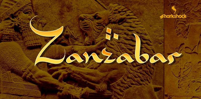 Kumpulan 5 Font Ramadhan 1441 Keren Terbaik Terbaru Part 1 Zanzabar
