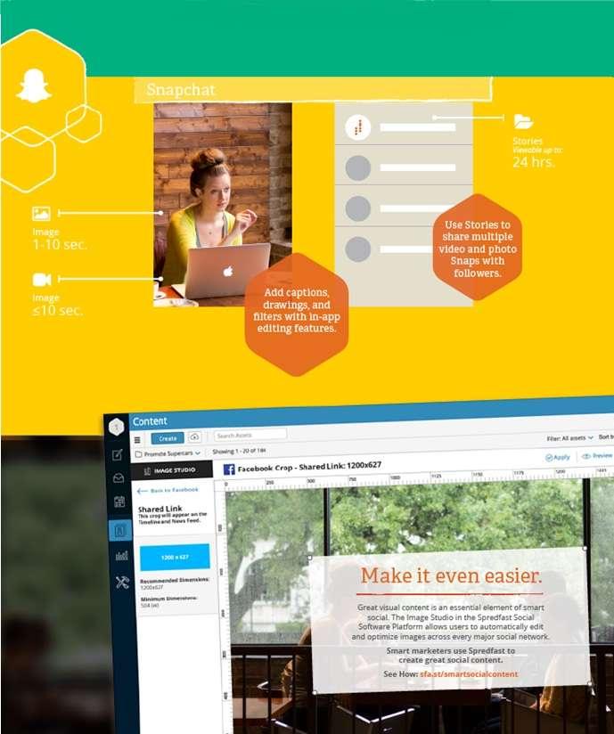 Guía de imágenes y vídeo en Redes Sociales - SnapChat