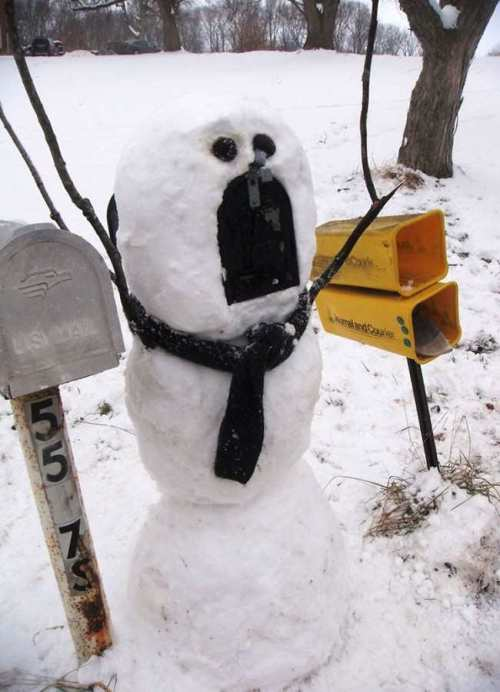 12 Crazy Snowmen Designs You Should Try Out