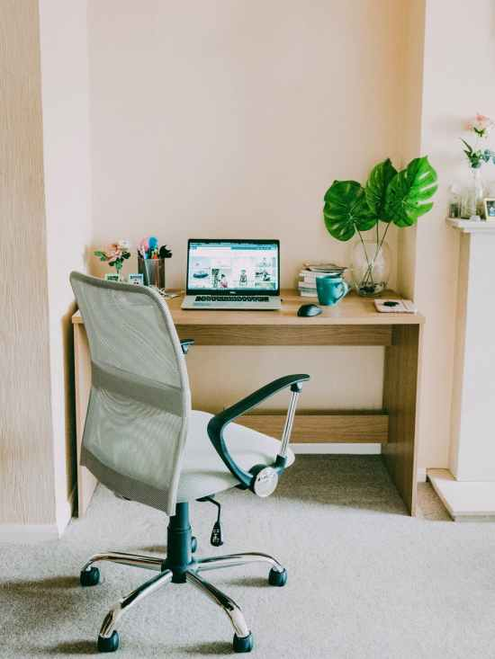 How To Make Your Work From Home Space Comfy