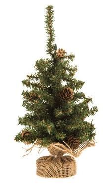 *10 Cute Mini Christmas Trees You'll Want To Buy ASAP For Your Apartment
