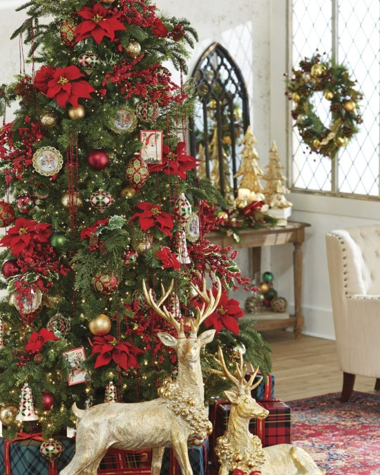 10 Classy Christmas tree decorations