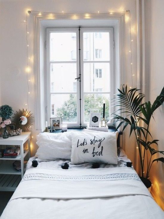 5 Places To Hang Fairy Lights In Your Dorm So You're Not In Total Darkness