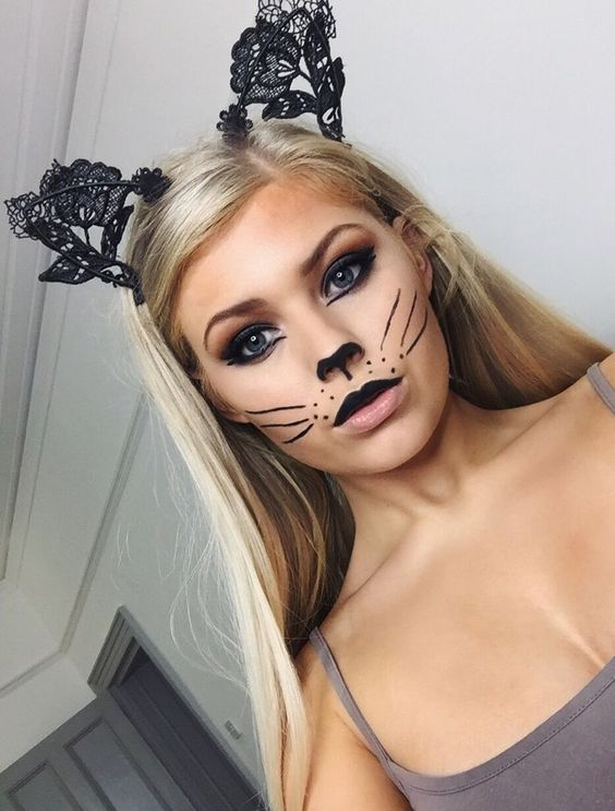 Halloween Makeup Looks That Will Take You Less Than 5 Minutes