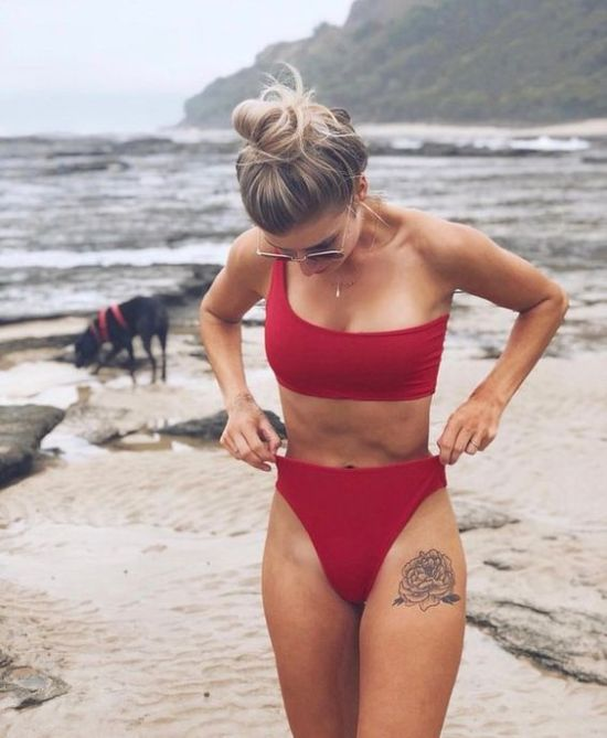 *10 Cute High Waisted Bikinis You Can Wear To Any Pool Party