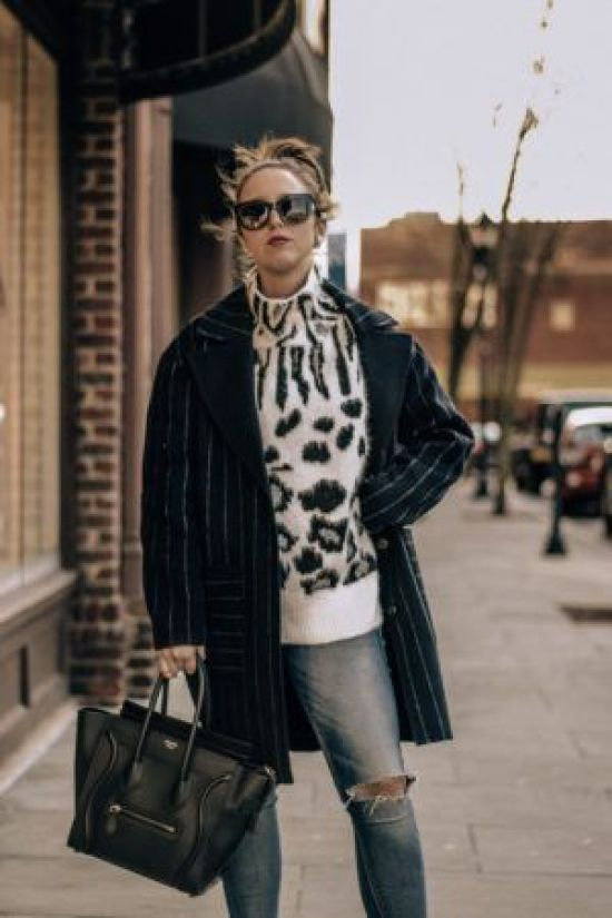7 Animal Print Sweaters Your Winter Wardrobe Needs