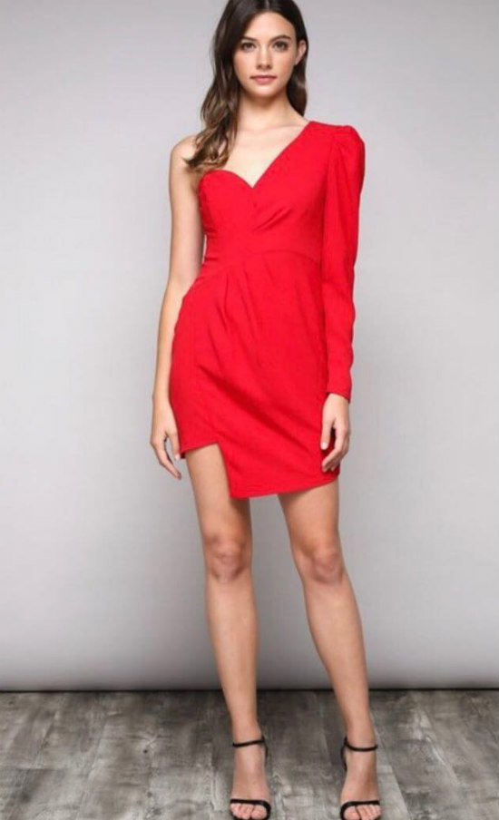 *12 Red Dresses For Valentines Day