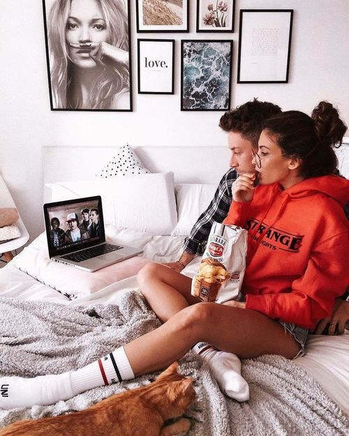 Netflix and chilling