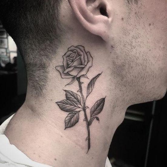 15 Incredible Neck Tattoos You Won't Regret