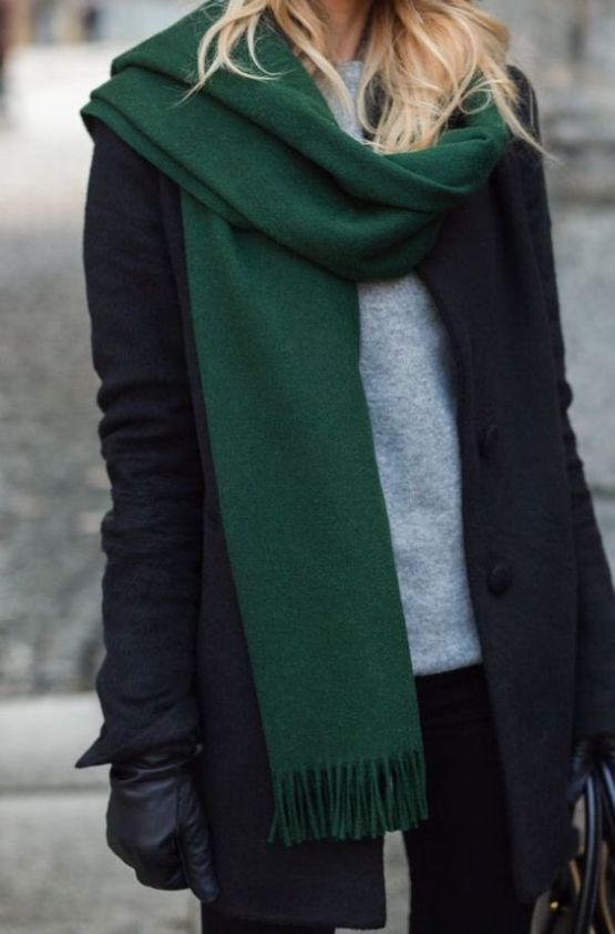 Cute And Unique Ways To Wear A Scarf