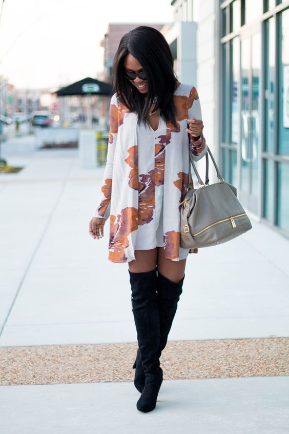 10 Ways To Style A Sundress In Fall