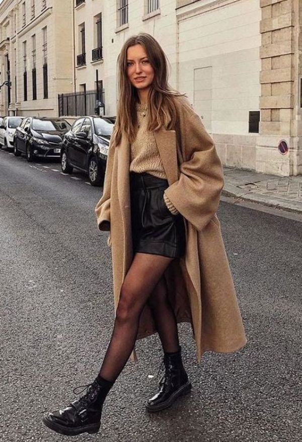 10 Cute And Trendy Ways To Keep Wearing Skirts In The Fall