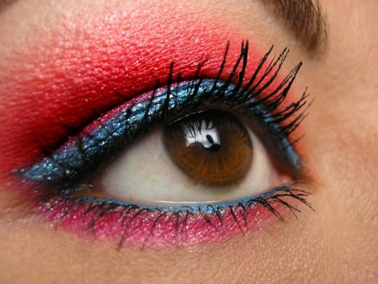 Fourth Of July Makeup Looks That Are So Red, White, And Blue