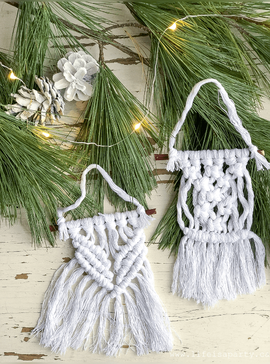 DIY Macrame Projects Ideas For Your Home