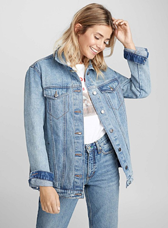 The Oversized Denim Jacket Style Guide