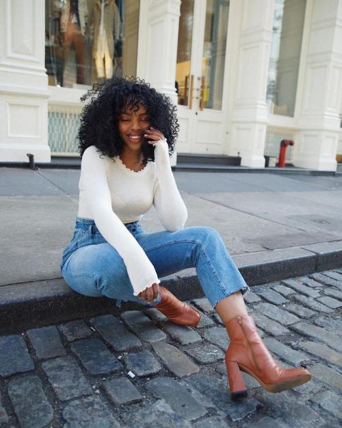 *30 Cute AF Black Girl Outfits