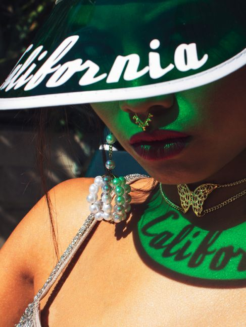 *Coolest Retro Visor Colors For This Summer