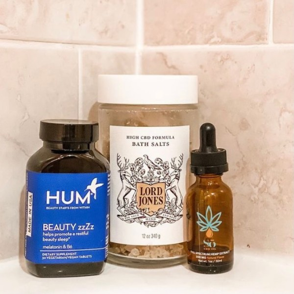 Bath Products For A Soothing Soak