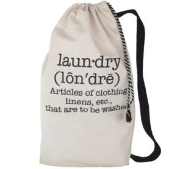 To avoid the confusion between clean clothes and dirty clothes