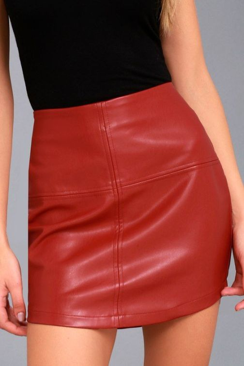 12 Leather Outfits To Add To Your Fall Wardrobe