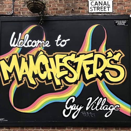 Welcome To Gay Village Graffeti