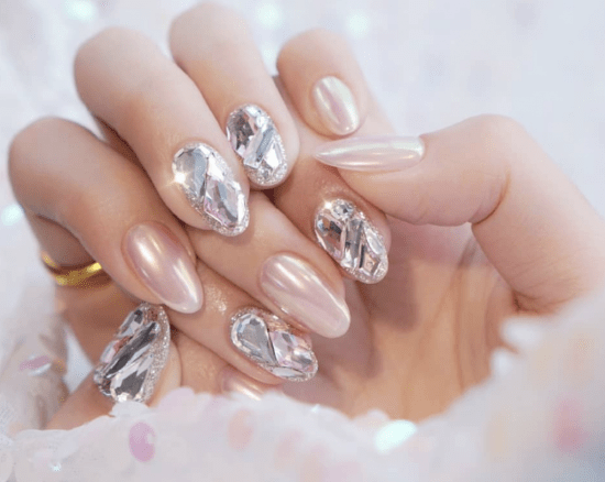 8 Korean Nail Art Designs That Are Super Trendy Right Now
