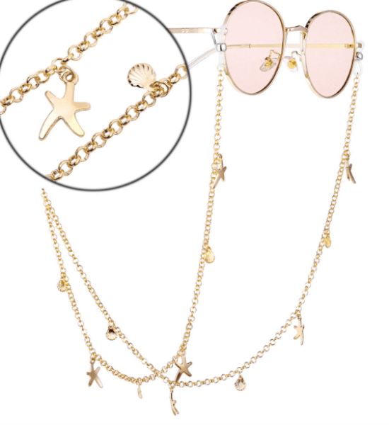 *Always Lose Your Sunglasses? Here Are 15 Chic Sunglass Chains You MUST Bring On Spring Break