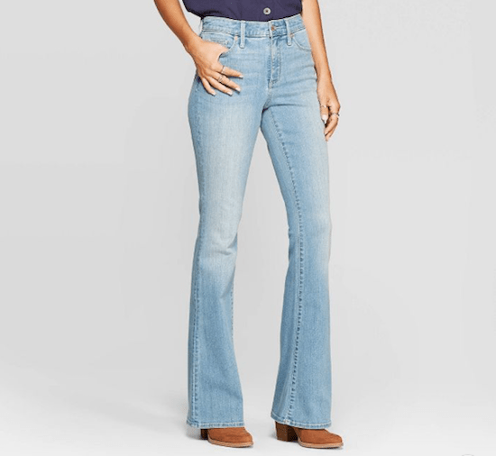 70s Throwback: It's Official Flare Jeans Are Back