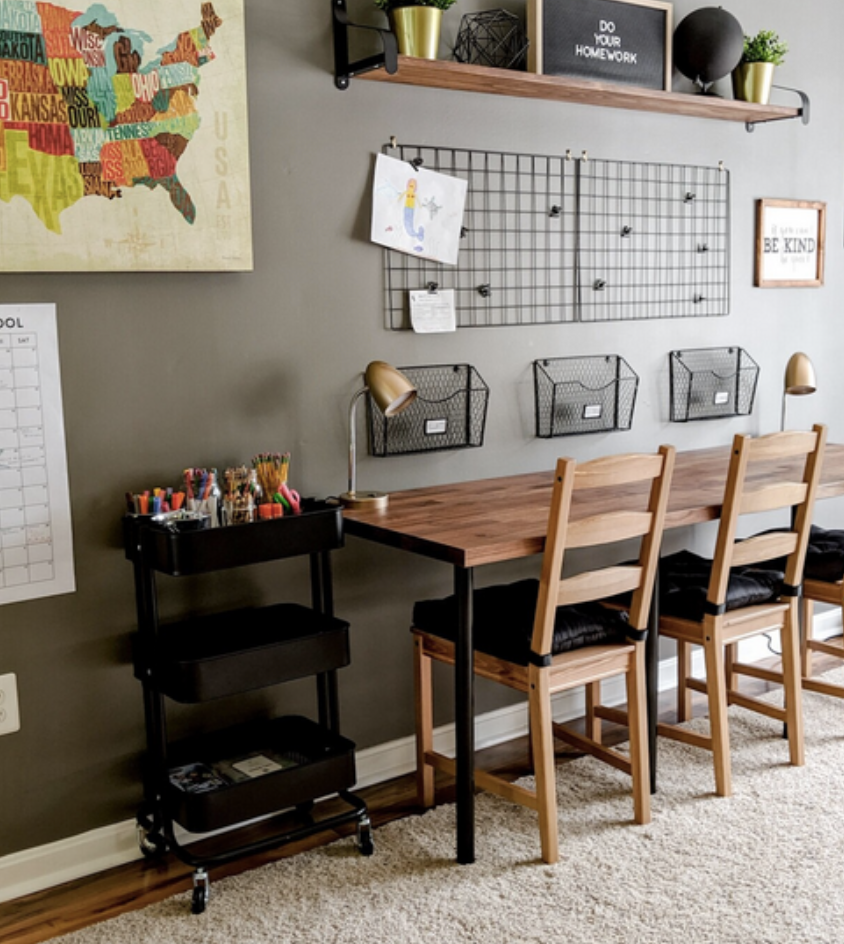 How To Transform Your Bedroom For Homeschooling