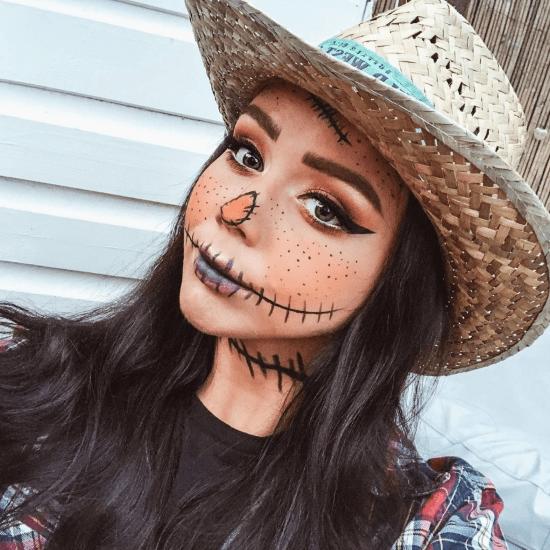 15 Cool Makeup Looks For Halloween