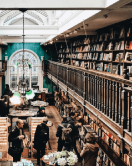 The Best Spots In London To See If You're A Bookworm
