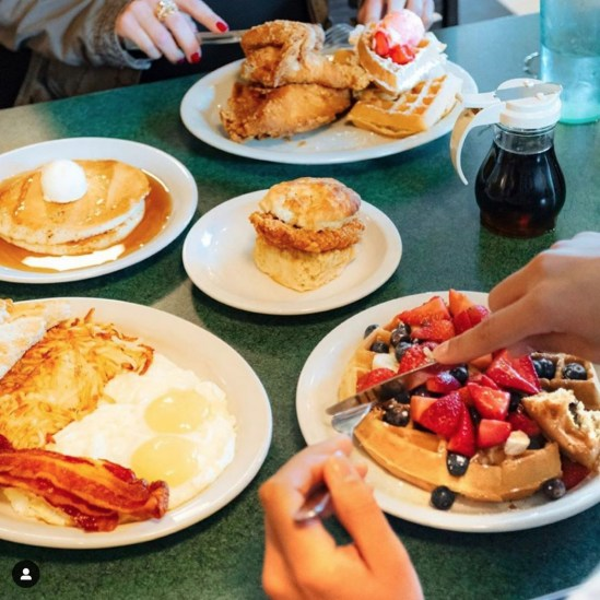 Best Brunch Spots Near UA For When You're Hungover