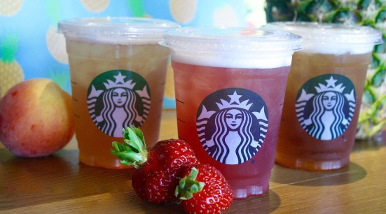 Strawberry Green Iced Tea Infusion