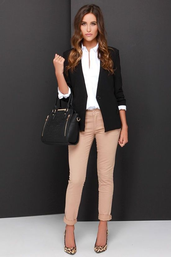 How To Pull Off Business Casual Day Of Rush & Look Like A Style Icon