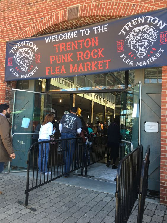 The Trenton Punk Rock Flea Market is a unique experience that only comes around five times a year. Here are 8 reasons to visit it!