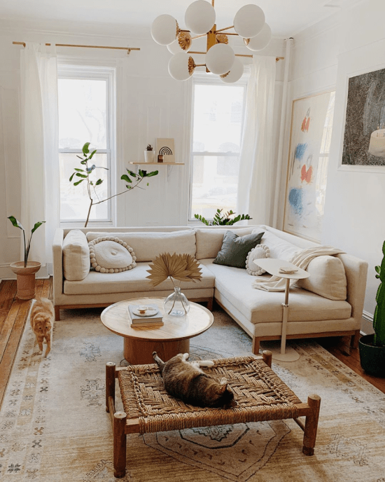 How To Style A Small Living Room