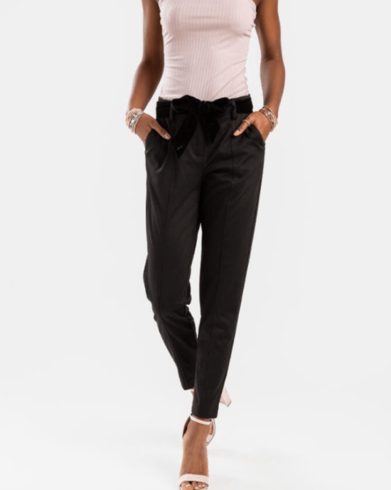 The 10 Cozy, Black, Work-From-Home Pants You Need Right Now