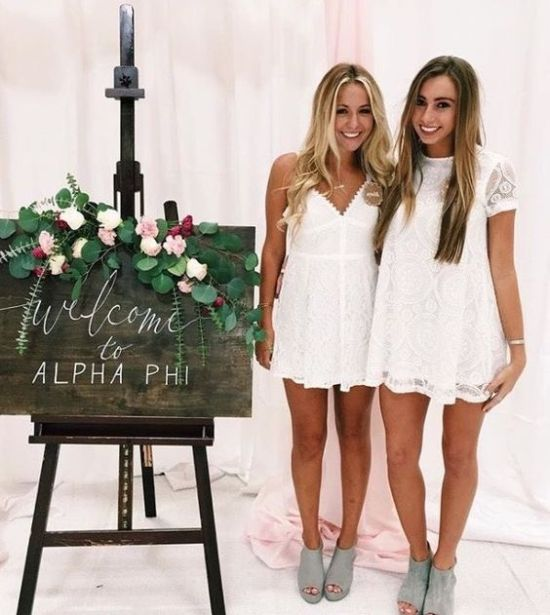 10 tips to survive sorority recruitment as told by a sorority girl