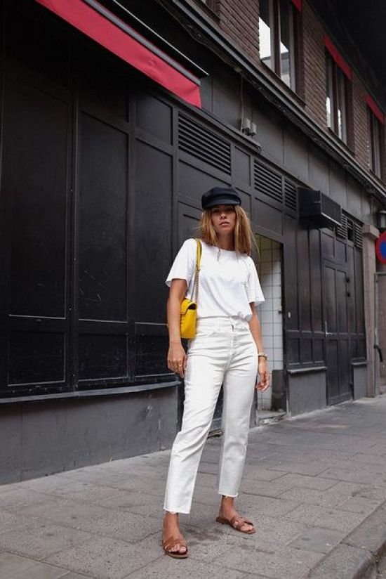 5 Way To Style White Jeans