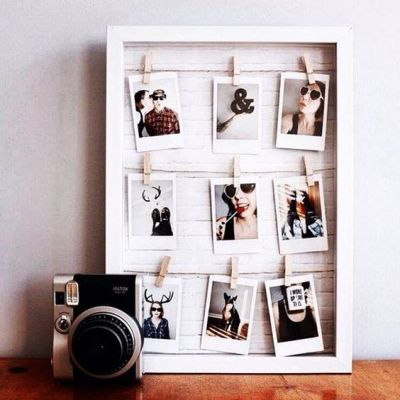6 DIYs To Fill Your Dorm With Photos